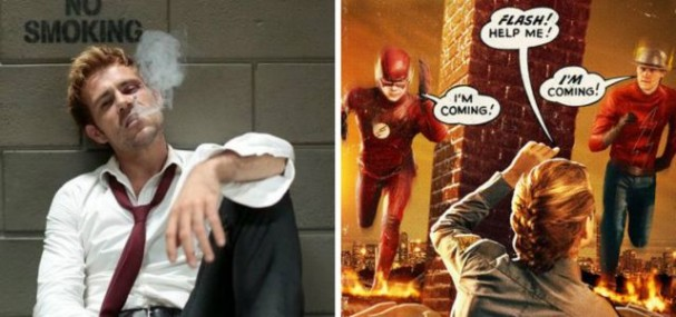 Constantine, Arrow and The Flash